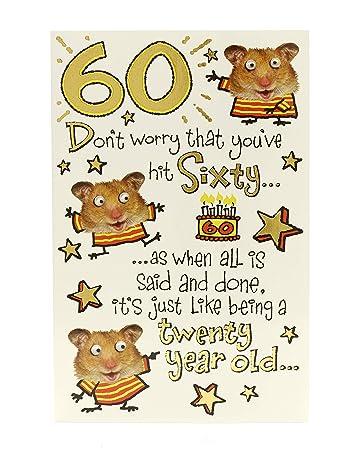Geburtstagskarte Zum 60 Geburtstag Lustig Ideales Geschenk