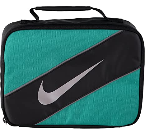 low priced 79b4e 28290 Image Unavailable. Image not available for. Color  Nike Swoosh Insulated Lunch  Box (Neptune Green ...
