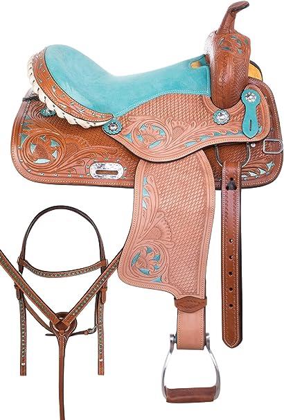"3/"" Harness Leather Back Cinch Flank Strap Horse Western Pleasure Barrel Saddle"