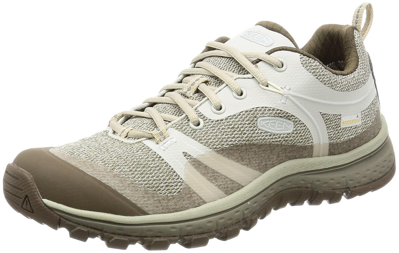 KEEN Women's Terradora Waterproof Hiking Shoe B01H8H4B7A 6 B(M) US|Silver Birch/Canteen