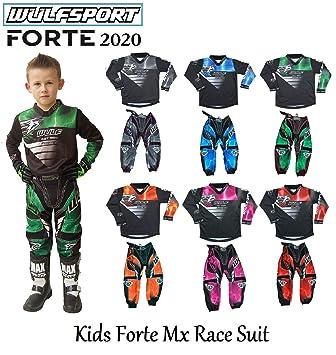 Moto Carrera De Wulf Firestorm Kids traje nuevo 2018 Motocross ...