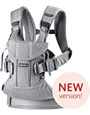 BABYBJÖRN Baby Carrier One Air, 3D Mesh, Silver, 2018 Edition