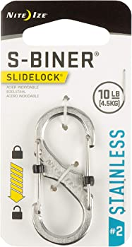 Nite Ize Slidelock Stainless Steel S-Biner