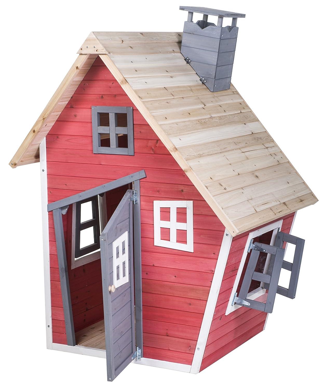 Amazon.com: Merax® Children\'s Wood Playhouse Indoor Outdoor Backyard ...