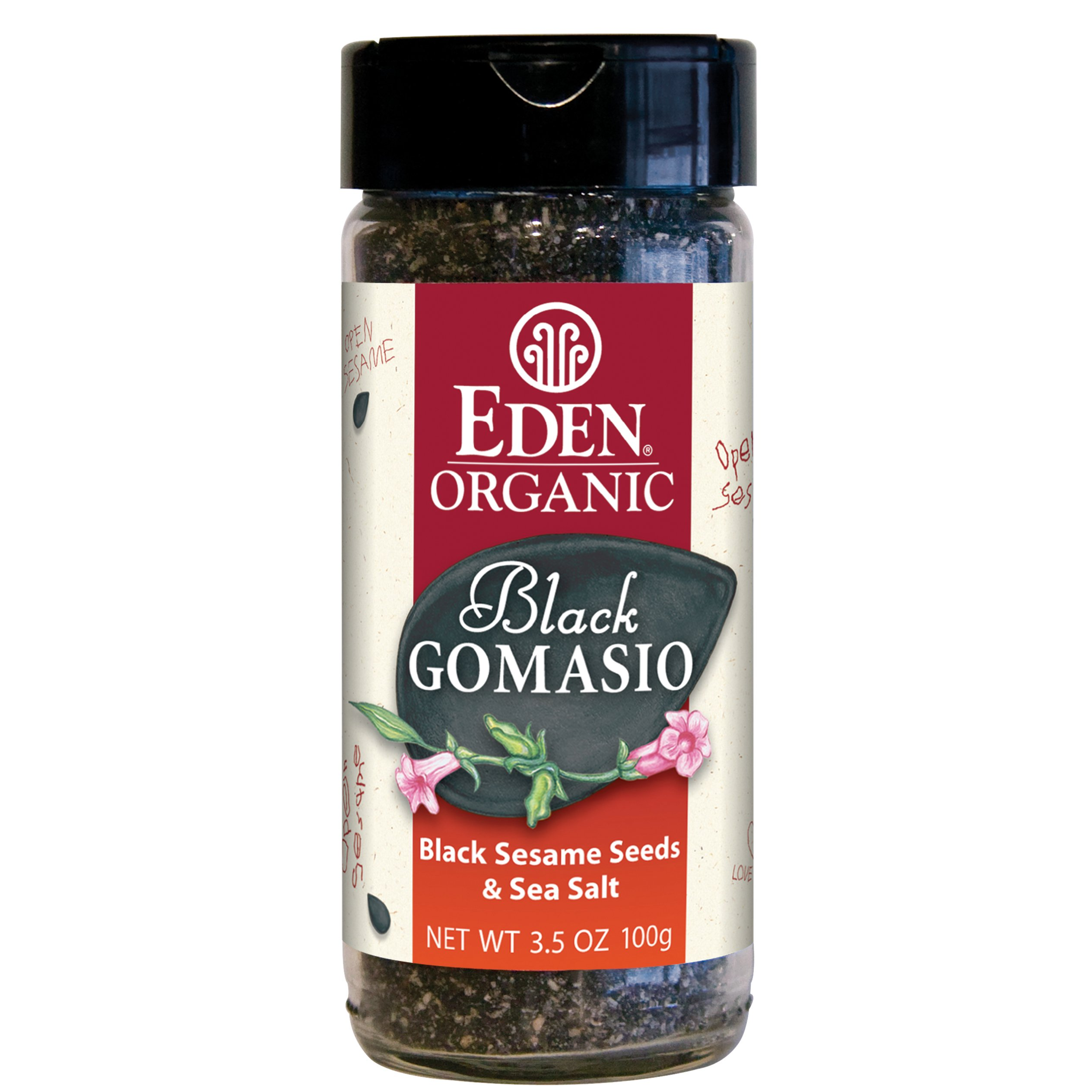 Eden Organic Black Gomasio, 3.5-Ounce Jars (Pack of 12)