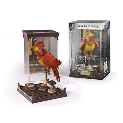 The Noble Collection Harry Potter Magical Creatures: No.8 Fawkes: Toys & Games