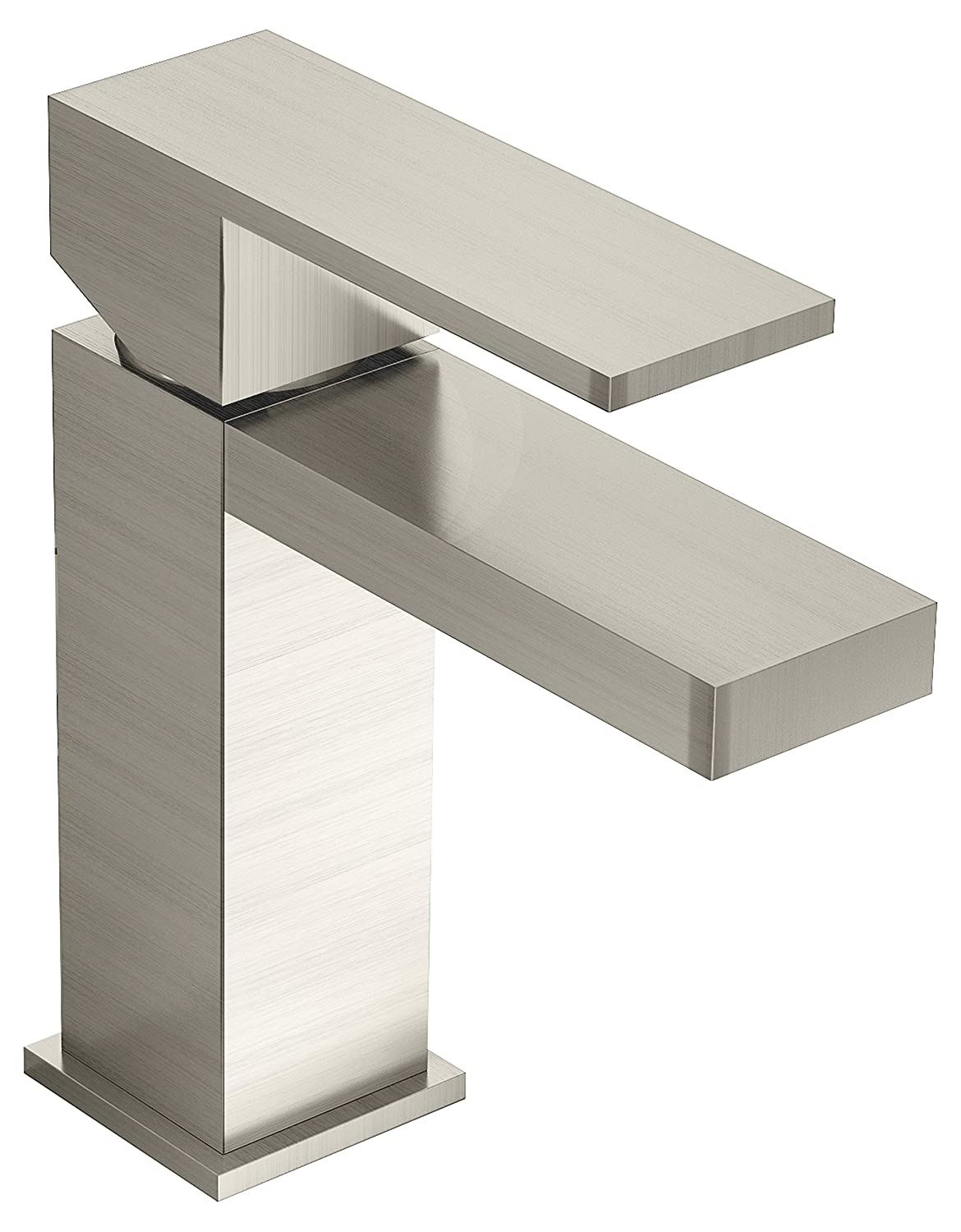 Symmons SLS-3610-STN Duro Single Handle Lavatory Faucet, Satin Nickel by Symmons B00FN6KRZO