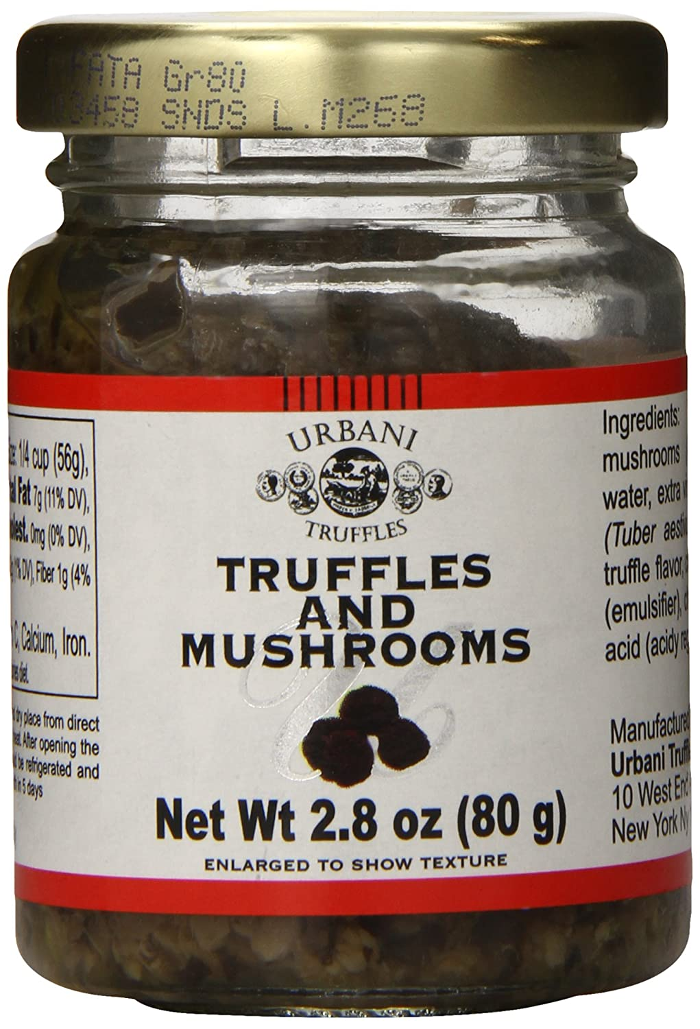 Urbani Mushrooms and Truffle Sauce, 2.8 Ounce: Amazon.com: Grocery & Gourmet Food
