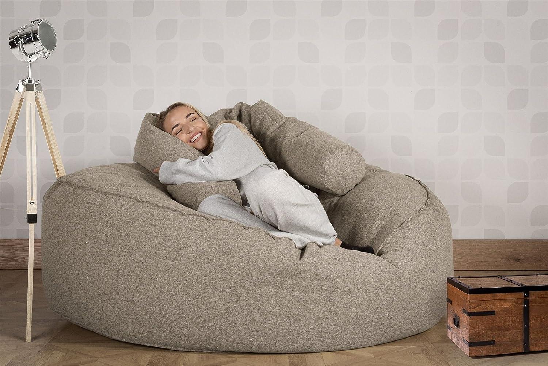 Lounge Pug®, Puff Gigante Mega-Mamut, Lana de Interalli ...