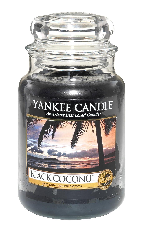 Yankee Candle 22-Ounce Housewarmer Jar Candle, Large, Black Coconut