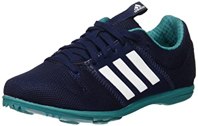 pretty nice 0580b 57d43 Adidas All rounder Junior Unisex Kids Track Spikes Running Shoes,  Multicolored (navy   white
