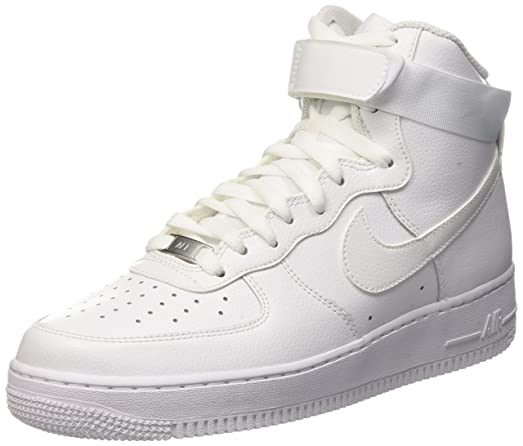 Nike Mens Air Force 1 High 07 Basketball Shoes White/White 315121-115 Size