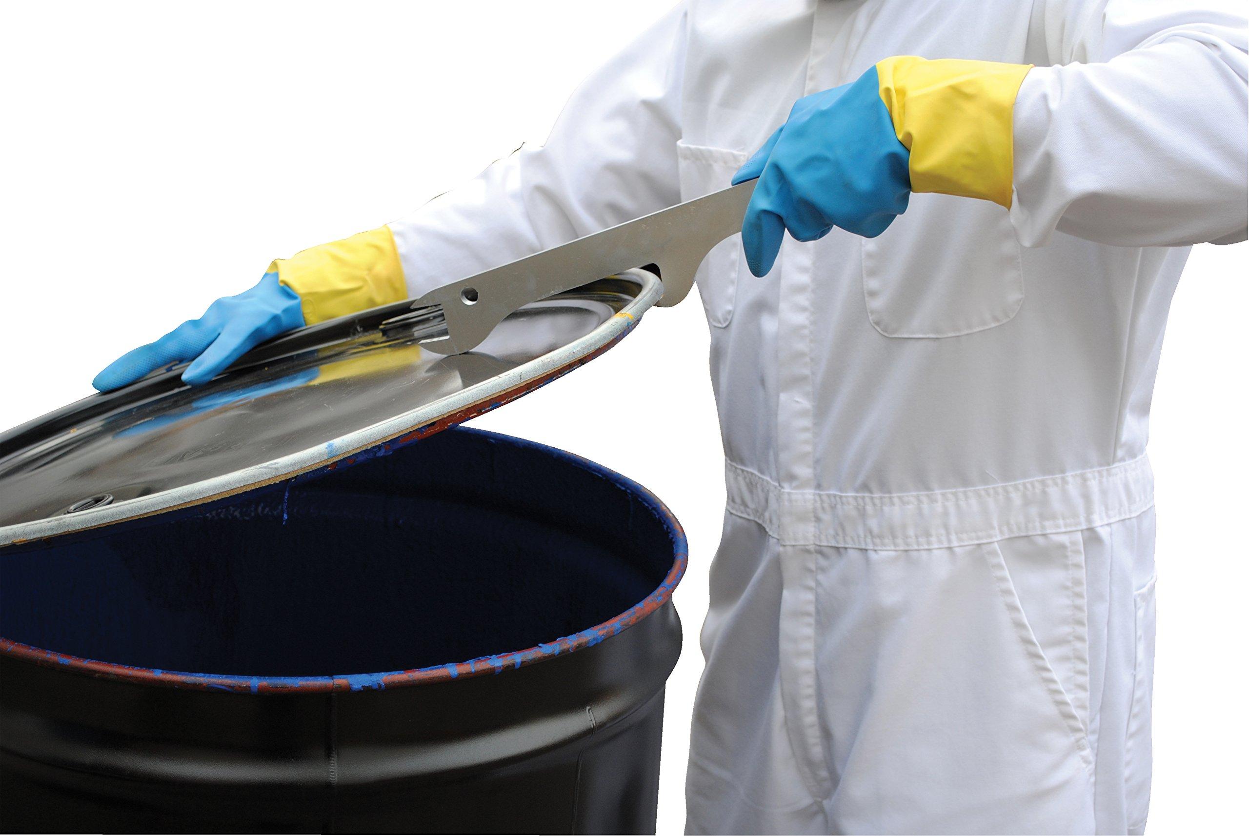 Vestil DRUM-PLB Multi-Purpose Drum Lid Tool, Yellow by Vestil (Image #1)