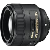 Nikon AF S NIKKOR 85mm f/1.8G Fixed Lens with...
