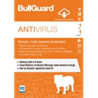 BullGuard Antivirus Latest Version - 1 Device, 1 Year (Email Delivery in 2 hours - No CD)