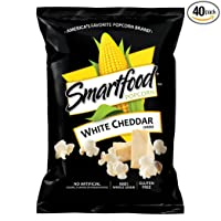 40-CT Smartfood White Cheddar Flavored Popcorn .625oz.