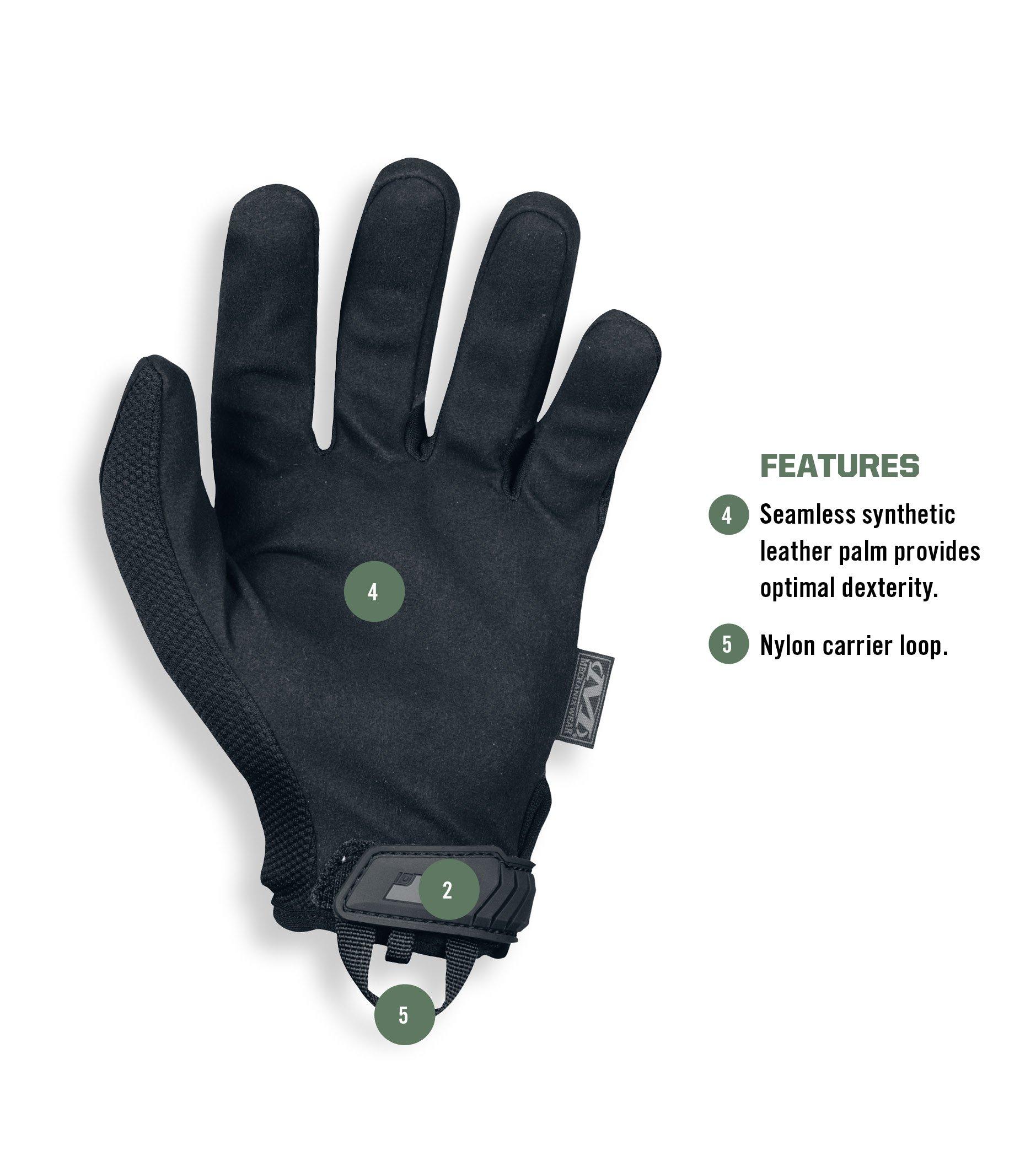 Mechanix Wear - Original Covert Tactical Gloves (Large, Black) by Mechanix Wear (Image #3)