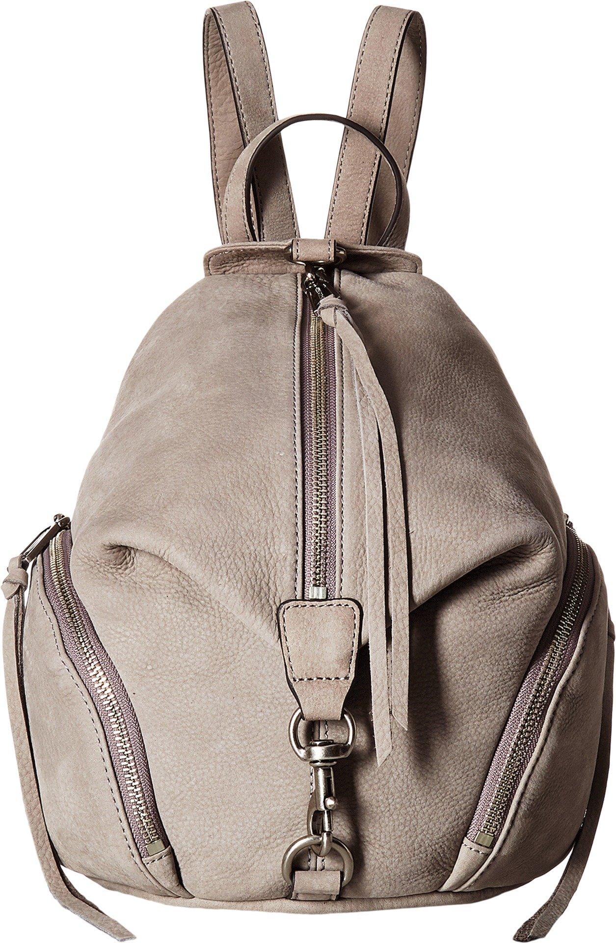 Rebecca Minkoff Women's Medium Julian Backpack Grey Backpack