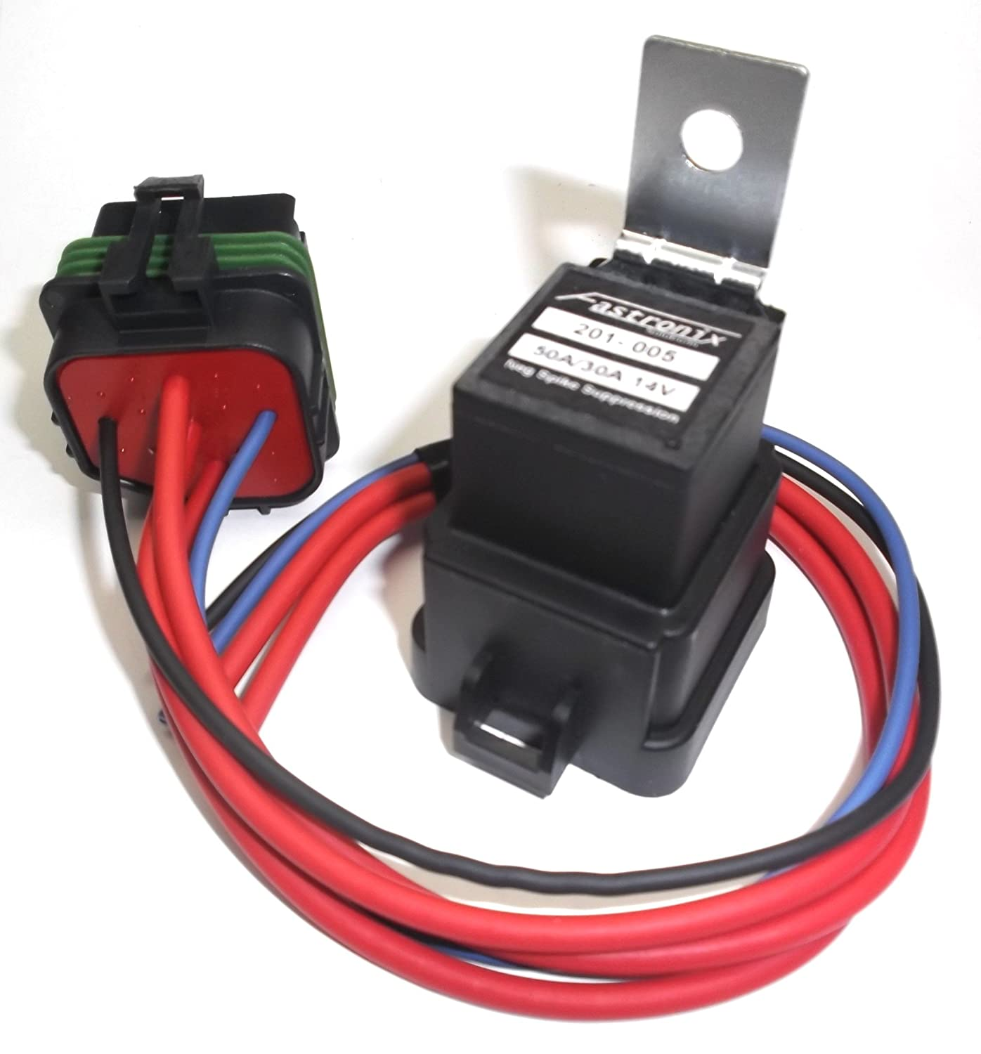 Fastronix 50/30 Amp Weatherproof Automotive Relay and Socket Kit Fastronix Solutions 900-005