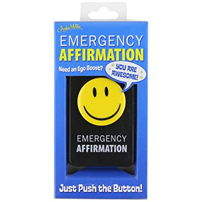 Accoutrements Emergency Affirmation Button: Toys & Games