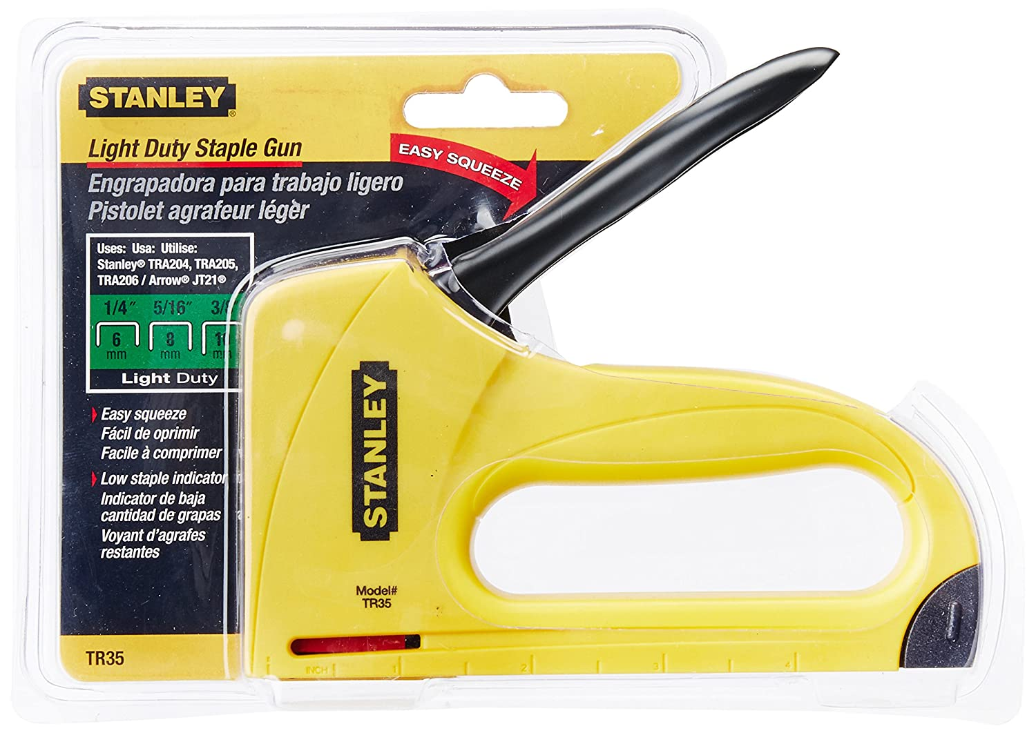Stanley Tr35 Light Duty Abs Stapler Hand Staplers And Tackers
