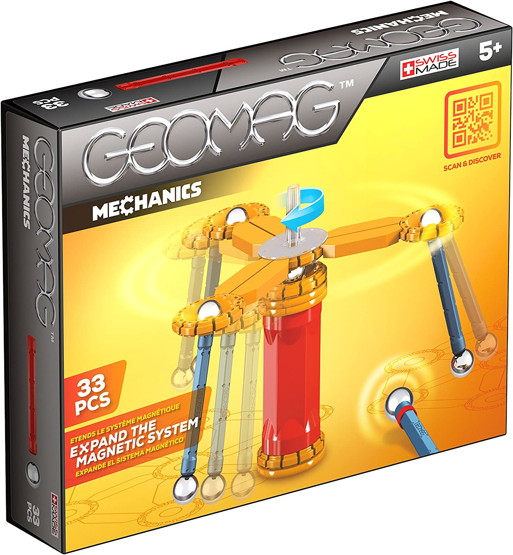 Geomag- Mechanics Construcciones magnéticas y juegos educativos, Multicolor, 95 Piezas (771) , color/modelo surtido: Amazon.es: Juguetes y juegos