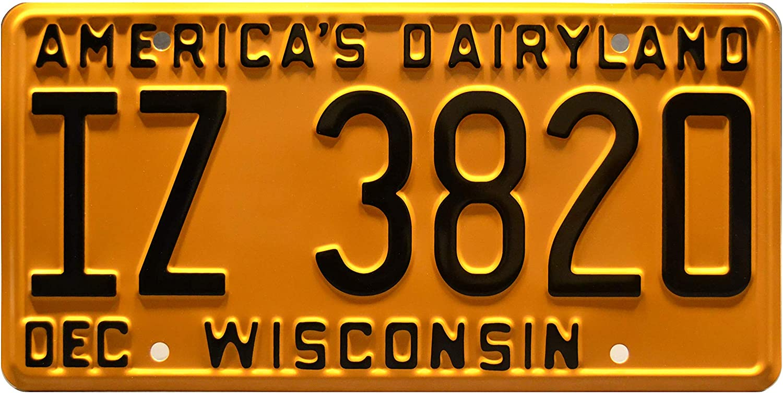 Celebrity Machines That '70s Show   IZ 3820   Metal Stamped License Plate
