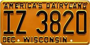 Celebrity Machines That '70s Show | IZ 3820 | Metal Stamped License Plate