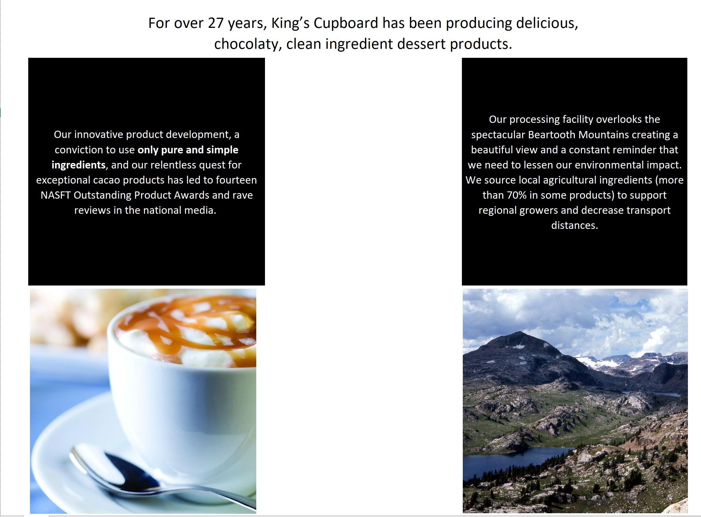 The King's Cupboard Original Organic Sampler Gift Set of Hot Fudge & Caramel Sauce by The King's Cupboard (Image #5)