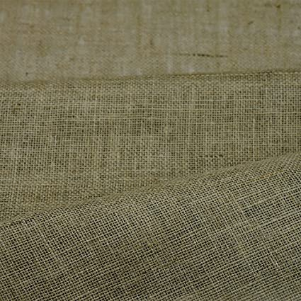 "NATURAL HESSIAN 40/""10 OZ 10 METERS UPHOLSTERY,WEDDINGS,CRAFT PROJECTS"