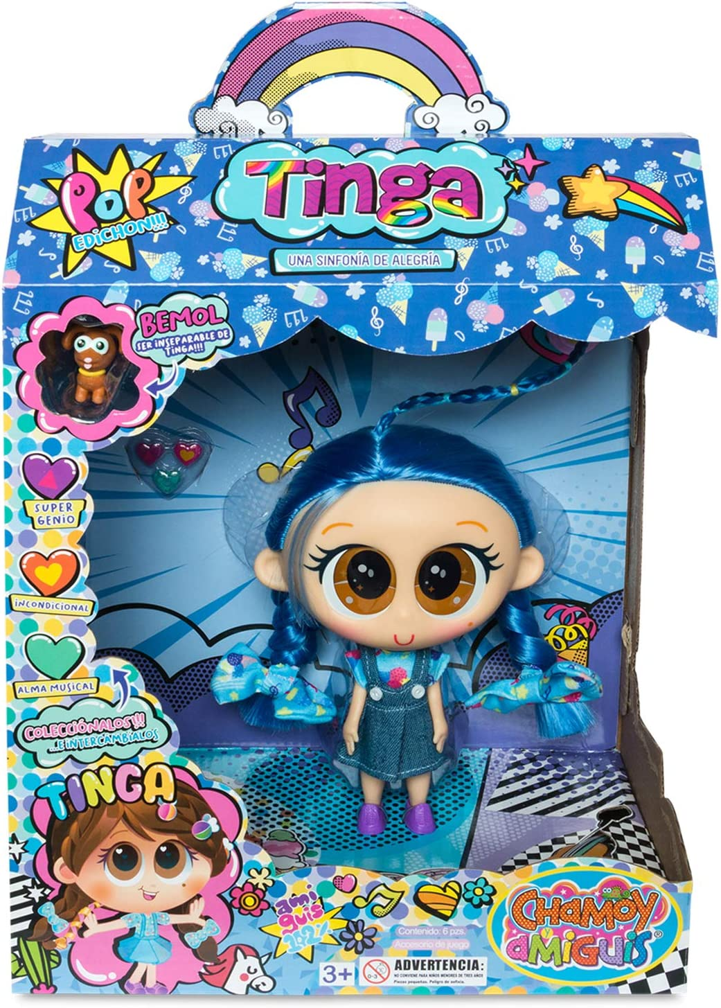 Distroller BAEBAE TINGA from Amiguis Collection Merito Fast Shipping