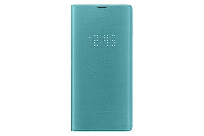 best service 07198 7b861 Samsung Official Original LED View Flip Cover Case for Galaxy S10e / S10 /  S10+ (Plus) (Green, Galaxy S10+)