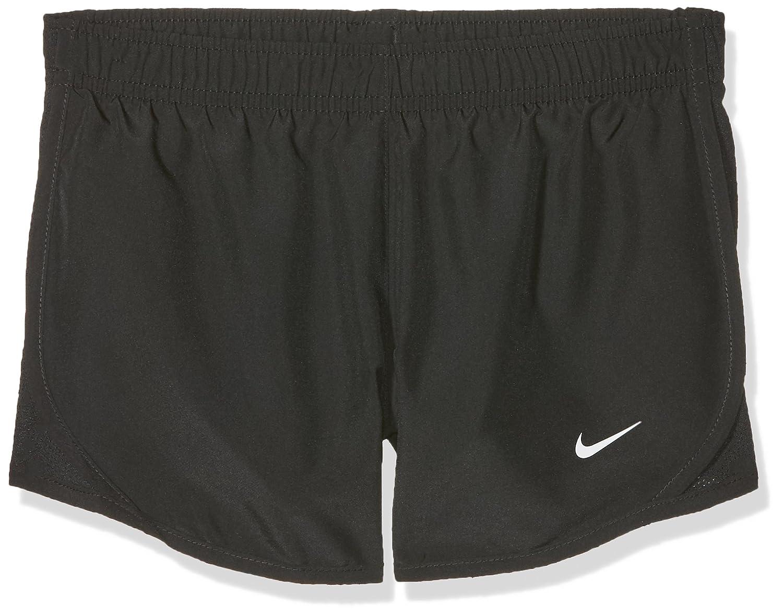 Noir blanc XL Nike Dri-FIT Tempo courte Fille