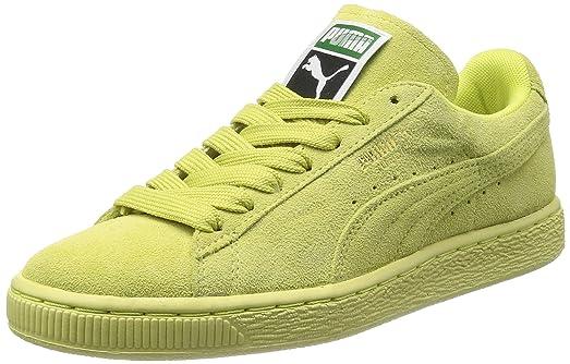 puma vert citron