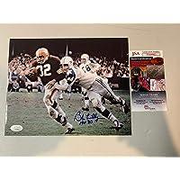 $54 » Bob Lilly Autographed Photograph - HOF 80 8x10 - JSA Certified - Autographed NFL Photos