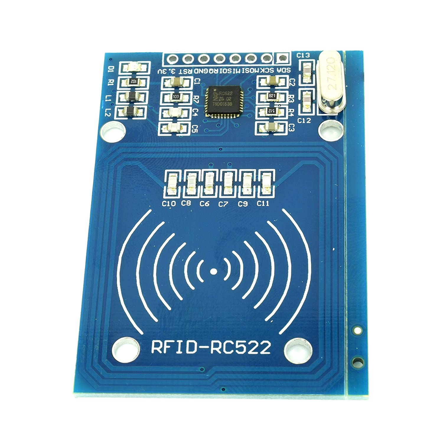 5pcs MFRC522 RFID Radio Frequency Identification Reader Sensor Module by Optimus Electric WiderCable