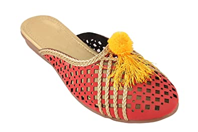 86993a76148 Stylish Party Wear ethnic Women Girls Office Slippers: Buy Online at ...