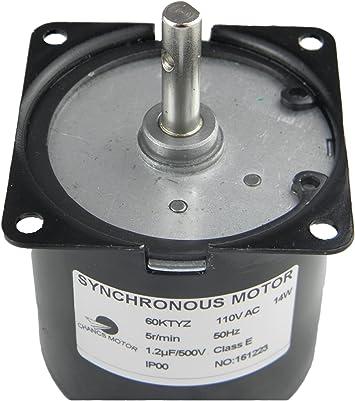AC 220V 60RPM Caja De Cambio Motor Eléctrico 60RPM 11W