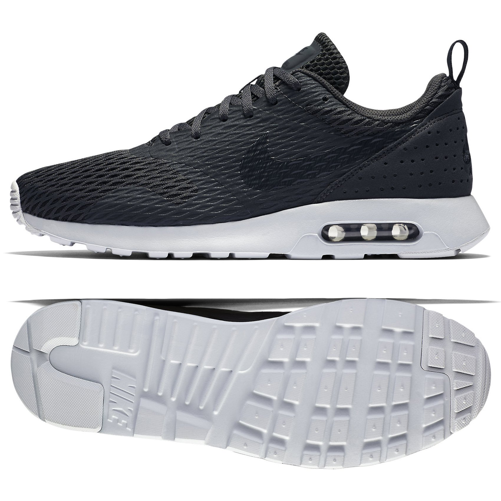 super popular 3f9a4 10f3b Galleon - NIKE Men s Air Max Tavas Anthracite Pure Platinum Ankle-High  Cross Trainer Shoe - 8.5M