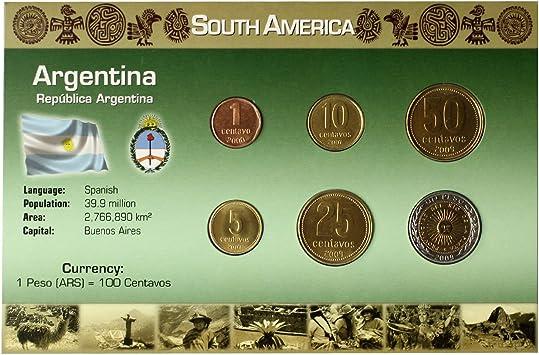 IMPACTO COLECCIONABLES Monedas del Mundo. Argentina, Blister de 6 ...