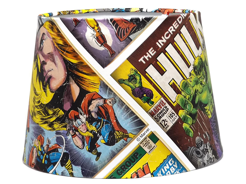 Marvel Avengers Comic Light shade lampshade Spiderman Thor Ceiling ...