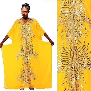 72ce8a099ce9b Designer Very Fancy Kaftan Jalabiya Dubai Abaya Gold Crystal Arab ...