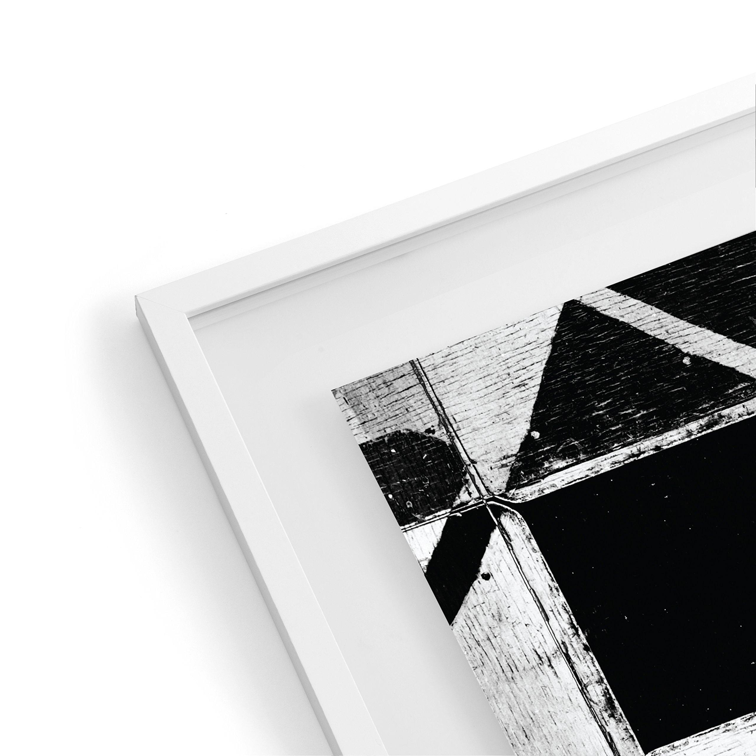 EDGEWOOD Driftwood- Float Frame- 11x14 White by EDGEWOOD (Image #1)