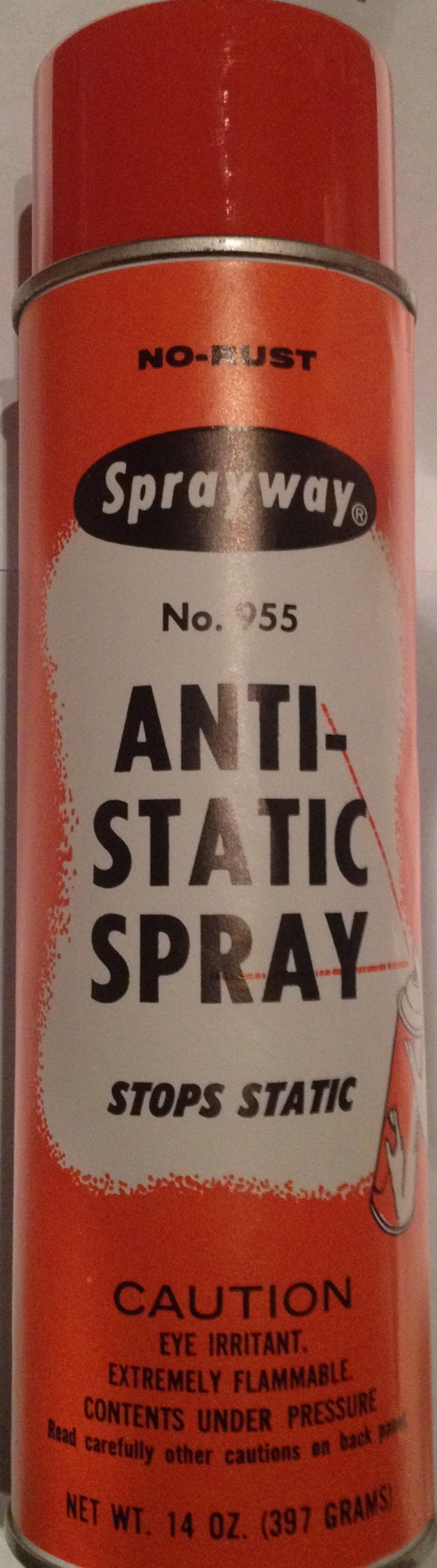 SPRAYWAY 955 - Anti-Static Spray 12/CASE