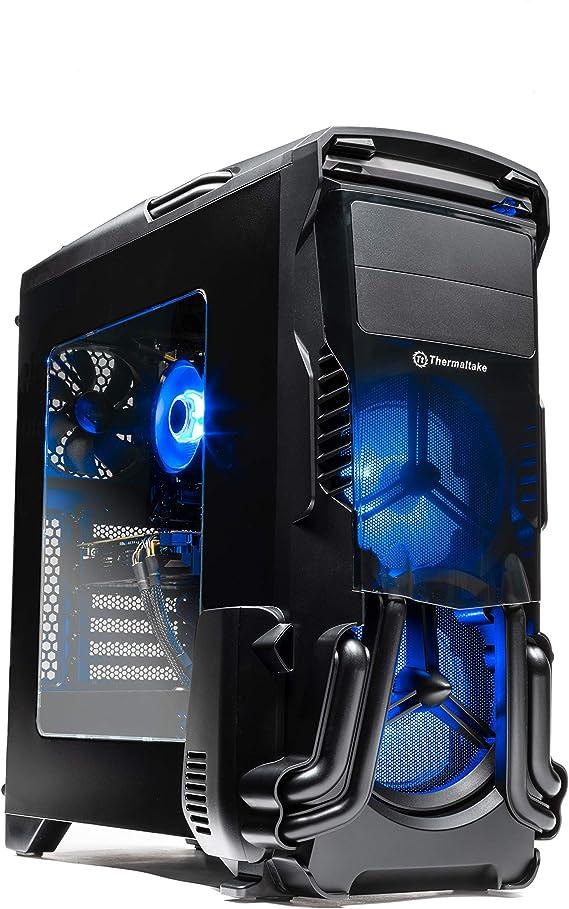 SkyTech Rampage - Gaming Computer PC Desktop – Ryzen 5 1600 6-Core 3.2 GHz