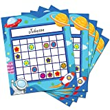 60 Pack Classroom Incentive Chart in 2 Designs with 1056 Star Stickers