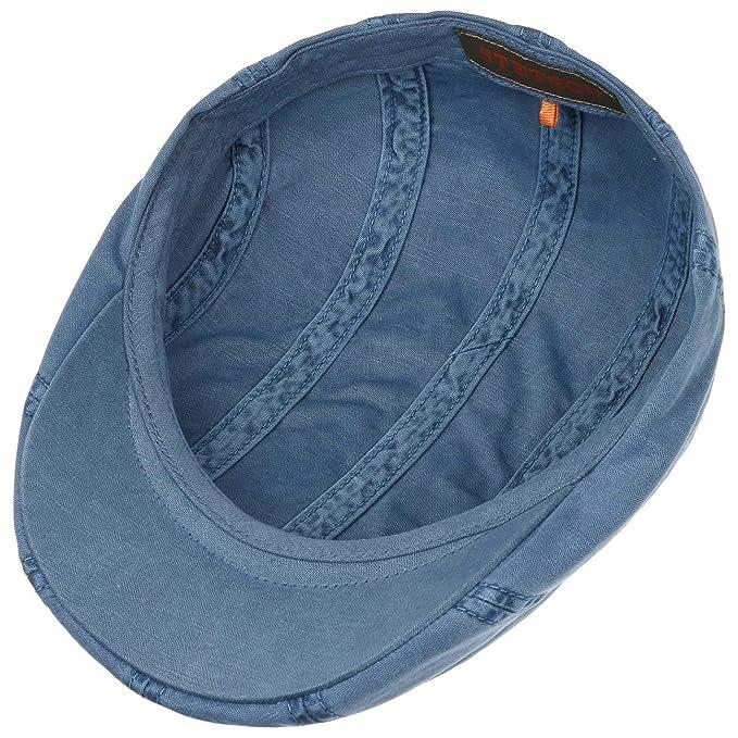 3516eaa009e Stetson Madison Dye Flat Cap Men