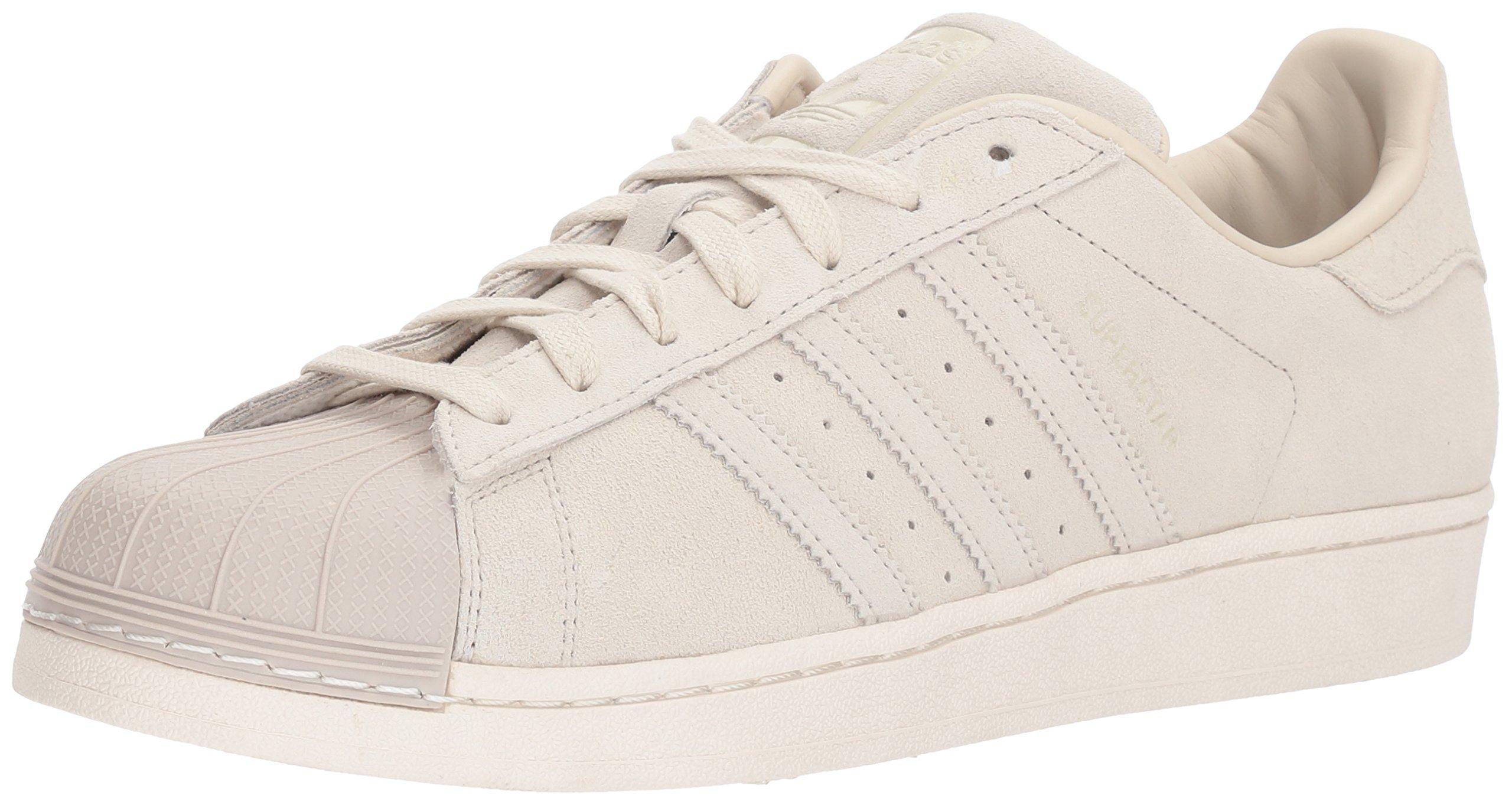 adidas Originals Men's Superstar Foundation Casual Sneaker, Clear Brown/Clear Brown/Clear Brown, 4 D(M) US