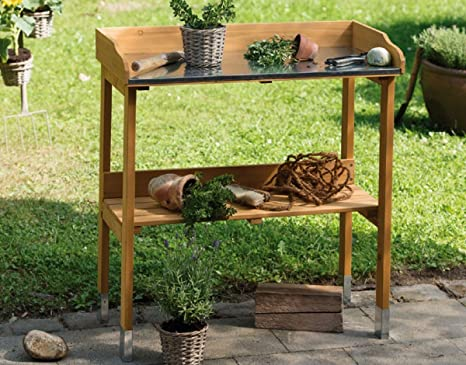 Tavolo Da Lavoro Giardino : Dreams4home tavolo da giardino tavolo da giardiniere aiuto legno
