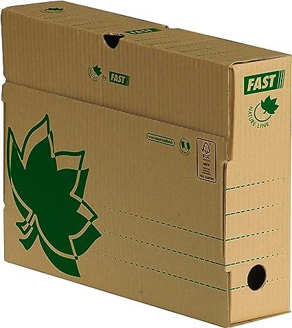 Fast - Caja Archivo Definitivo Eco Lomo Pequeño Caja 10 Cajas ...